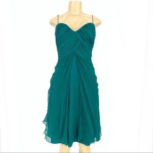 Tadashi Silk Mini Cocktail Dress